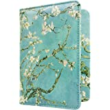 WALNEW Passport Holder Cover Case Travelling Passport Cards Carrier Wallet Case
