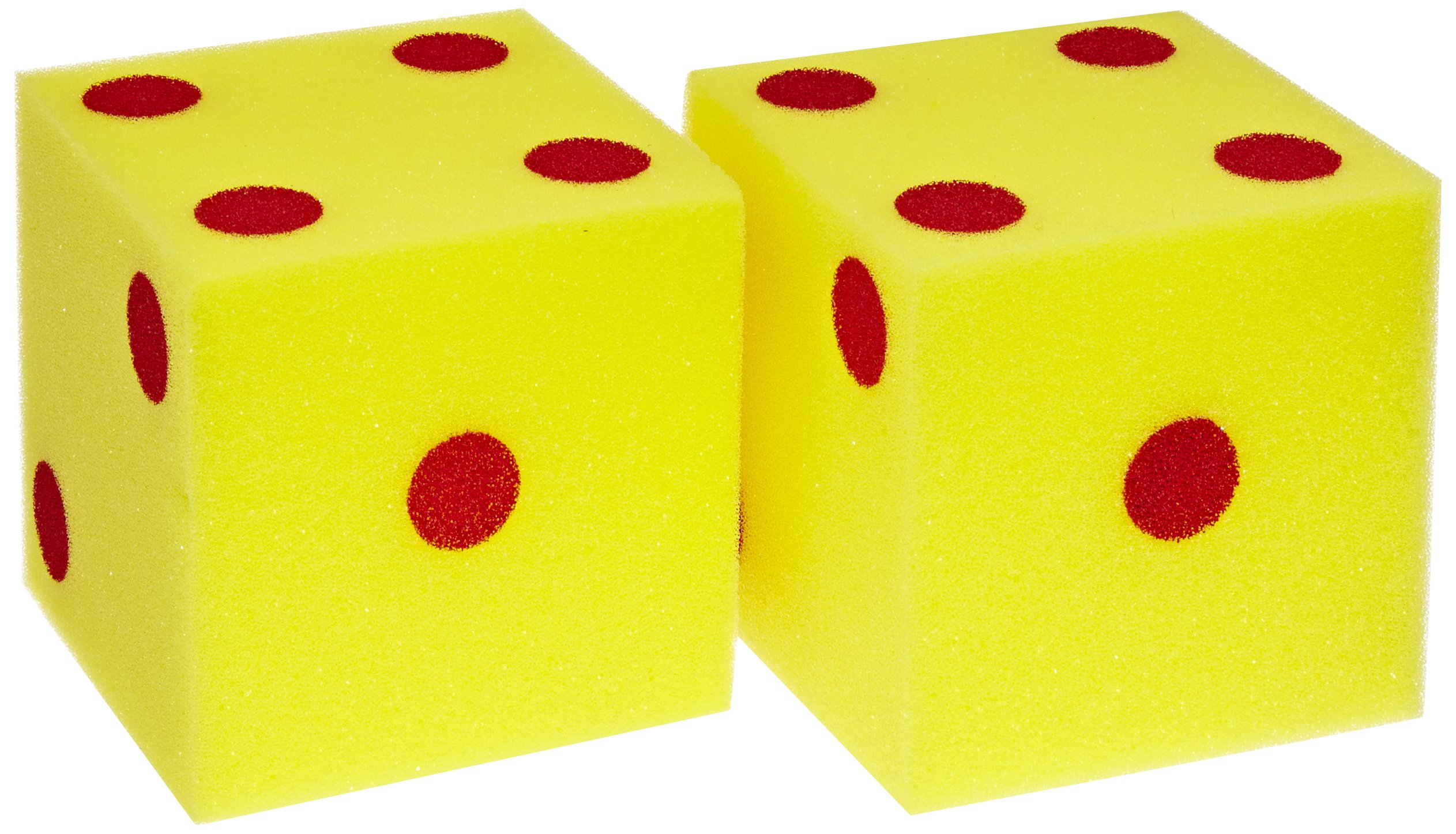SI Manufacturing Giant Foam Dot Dice, 1 Pair by SI Manufacturing