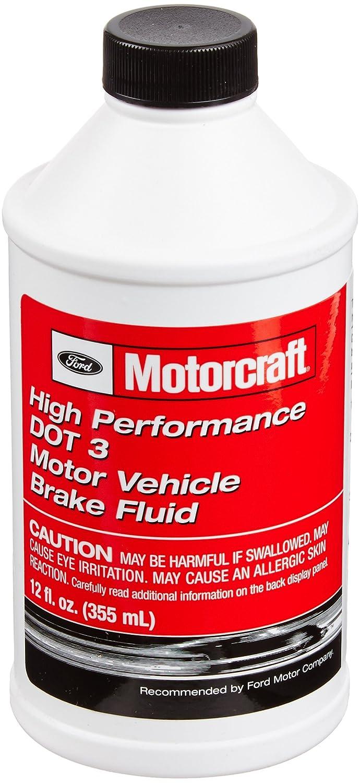 Genuine Ford Fluid PM-1-C High Performance DOT-3 Motor Vehicle Brake Fluid - 12 oz.
