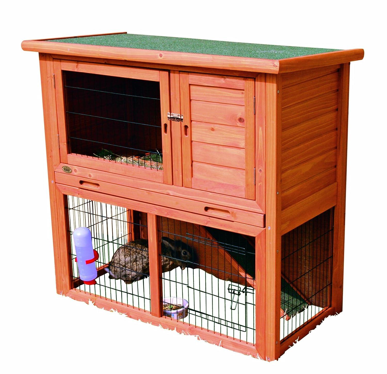 Trixie Conejera con Area de Juego Natura [2 colores]: Amazon.es: Productos para mascotas