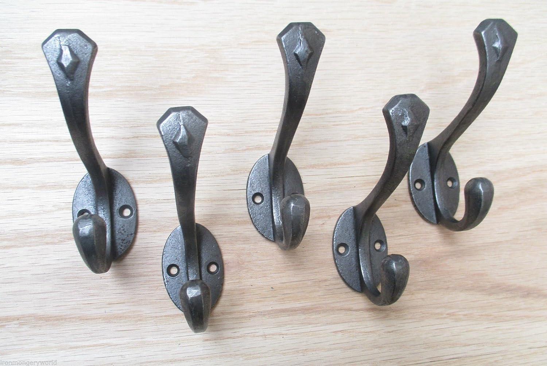 IRONMONGERY World® 5 x gótico - hierro fundido samfme viejo ...
