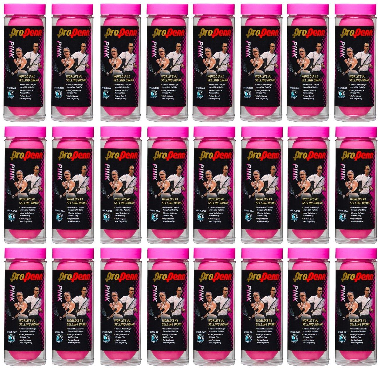 Head ProPenn Pink Racquetballs - 3 Ball can (24)