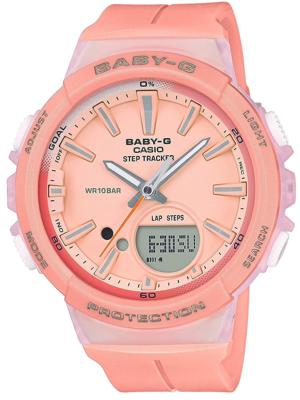 [カシオ]CASIO 腕時計 BABY-G ベビージー ~フォーランニング~ ステップトラッカー BGS-100-4AJF レディース B0747K5WJC