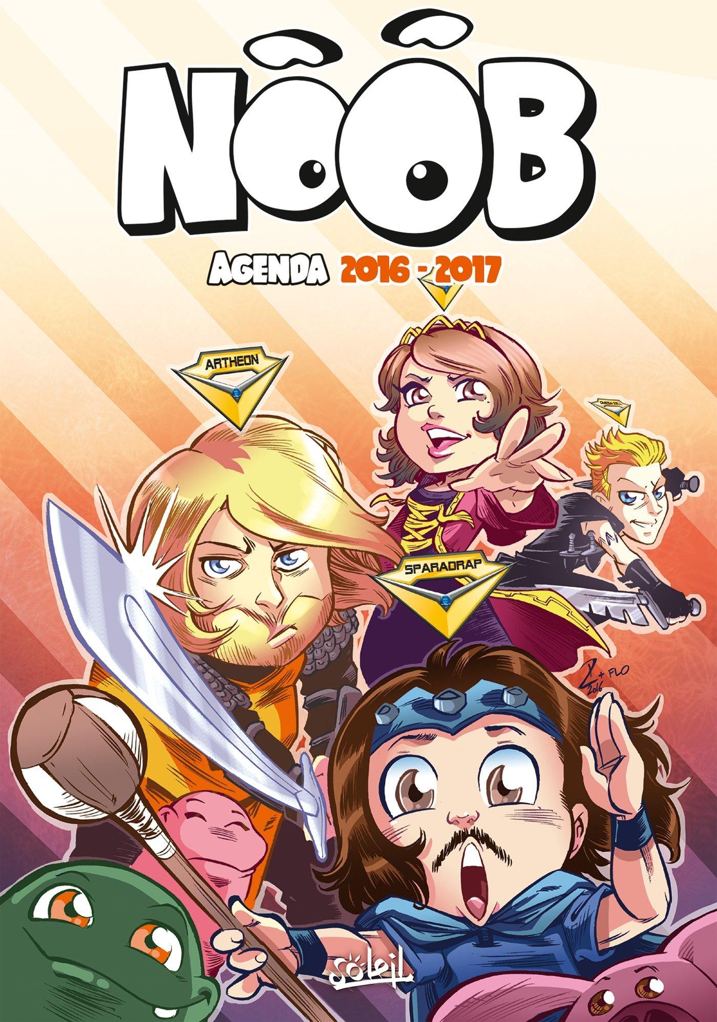 SOLEIL Noob agenda 2016 - 2017: 9782302052475: Amazon.com: Books