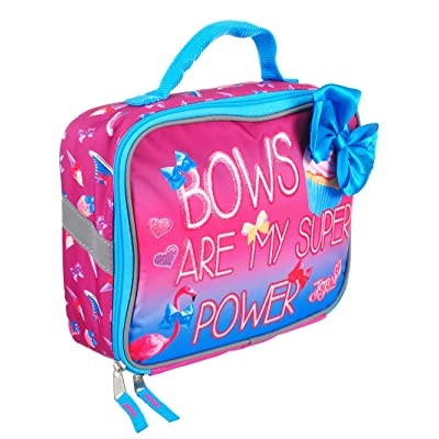 Accessory Innovations JoJo Lunch Box Soft Kit Insulated Cooler Siwa Bows are My Super Power: Kitchen & Dining