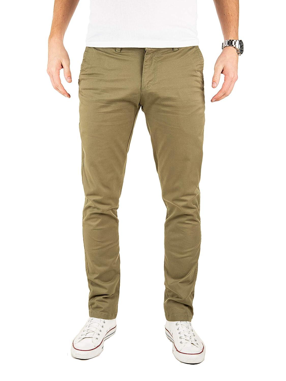 TALLA 29W / 30L. Yazubi Chinos Pantalones Slim Fit - Dustin - para Hombre