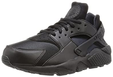 Nike Damen Air Huarache Run Sneaker Schwarz (Black/Black) 38.5 EU