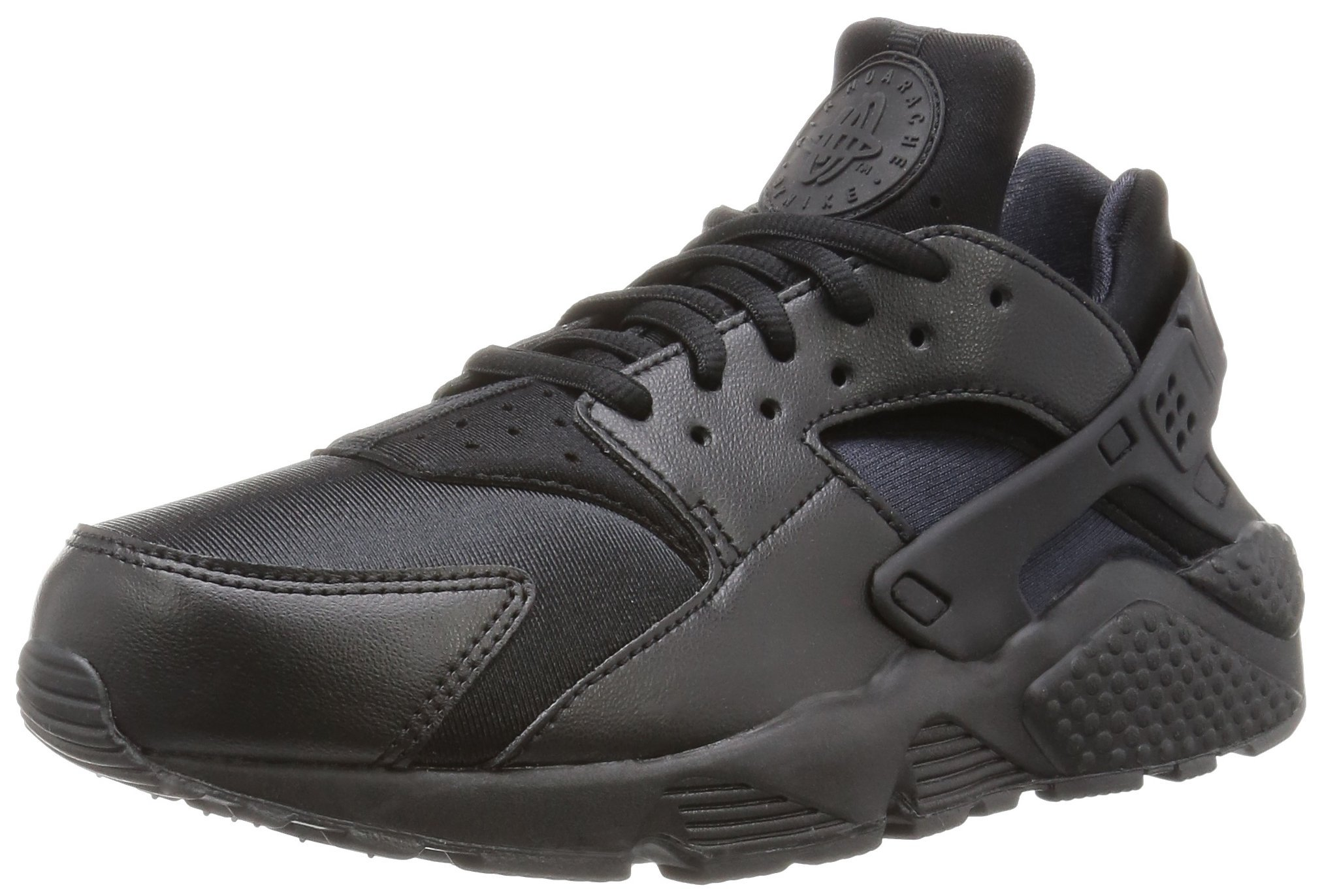 Nike Women's Air Huarache Run Black/Black Running Shoe 10 Women US