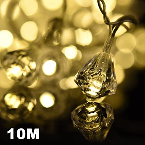 Micro Led String Lights Mesmerizing Amazon Amazlab T60DW 60 Meter60 Feet Warm White Diamond