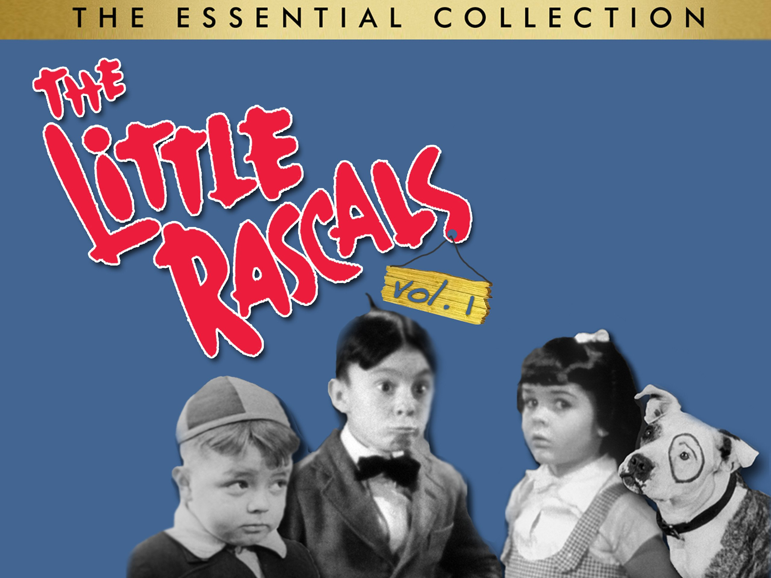 Amazon.com: The Little Rascals: The Essential Collection, Vol.1 ...