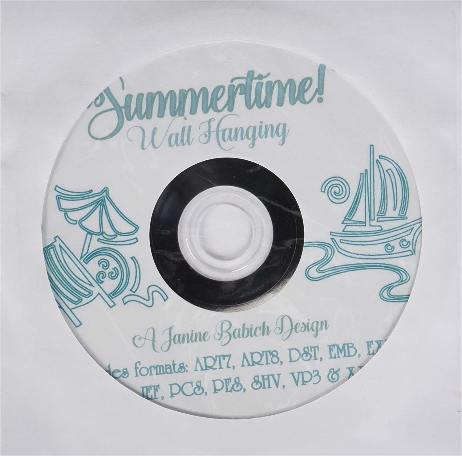 Hello Summer Wall Hanging ME CD by Janine Babich Design