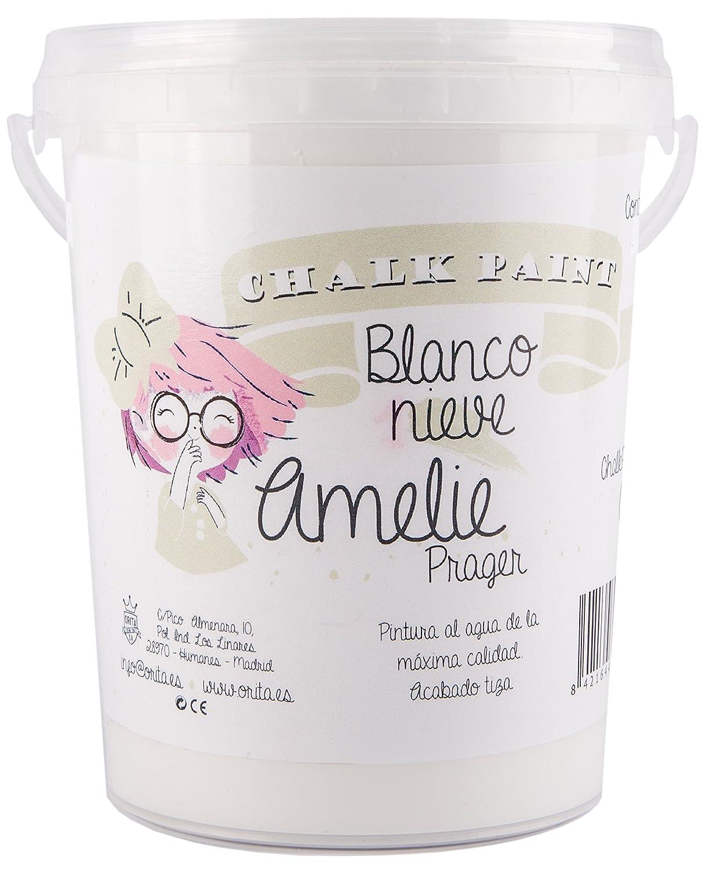 Amelie Prager 3000–01peinture à la craie, blanc neige, 3l 3l Orita 3000-01
