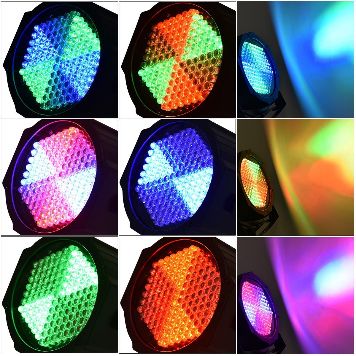 6W 127 RGB LED Stage Projector Laser Lighting DMX512 Disco Party Club DJ New by Blossom Store