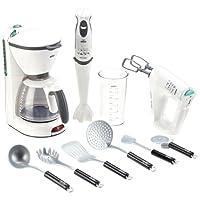 Klein - 9625 - Jeu d'imitation - Set appareils de cuisine Braun avec ustensiles