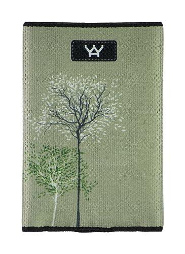 YaYwallet Soporte de tarjeta de crédito, cartera minimalista, nuevas raíces
