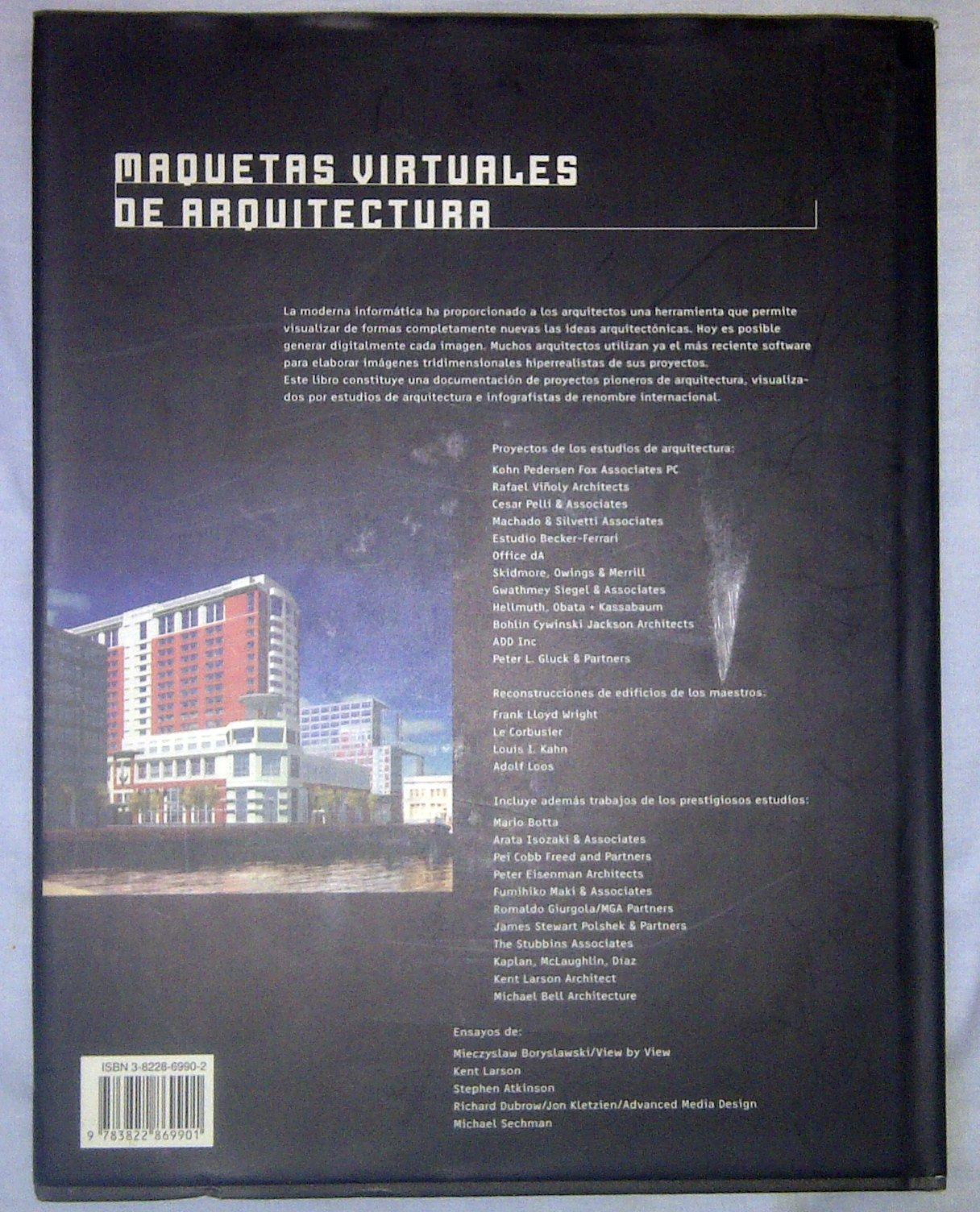 Maquetas Virtuales de Arquitectura - Con CD ROM (Spanish ...