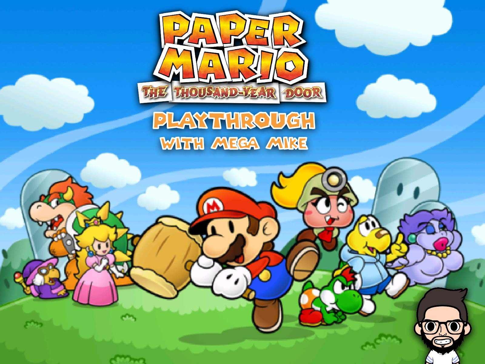 Watch Paper Mario The Thousand Year Door Playthrough With Mega