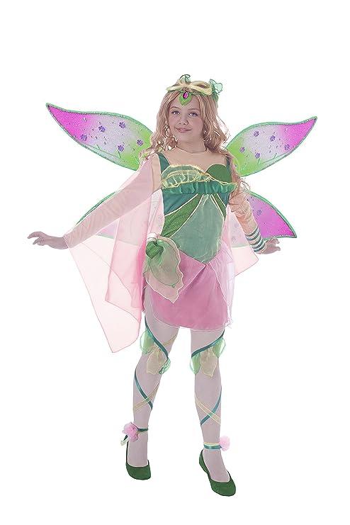 fec88967a7 Ciao 11190 - Flora Bloomix Costume Winx Club, 7-9 Anni: Amazon.it ...
