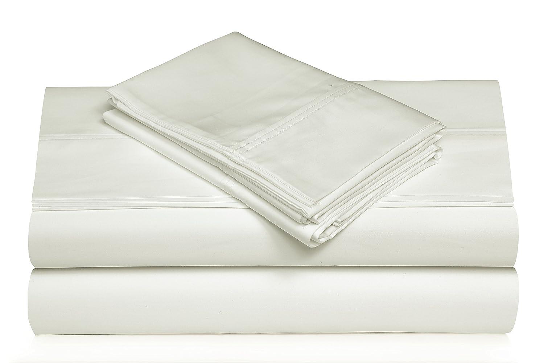 TRIBECA LIVING 360SADPSSKISG 360 Thread Count Cotton Deep Pocket Sheet Set King Silver Grey Marwah Corporation