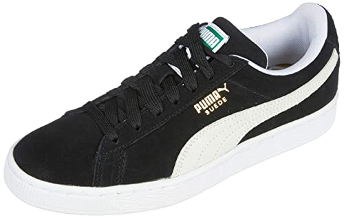 Mens Puma Suede Classic+ Low Top Sneakers Steeple Gray White | Miss Advising