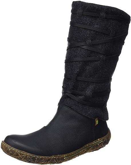 El Naturalista N5441 Soft Grain-Premium Wool Black Nido d2a1a9f2d63