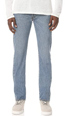 7cbeeba6006 Levi's Men's 501 Made in The USA Original Fit Jeans, Medium Authentic, ...