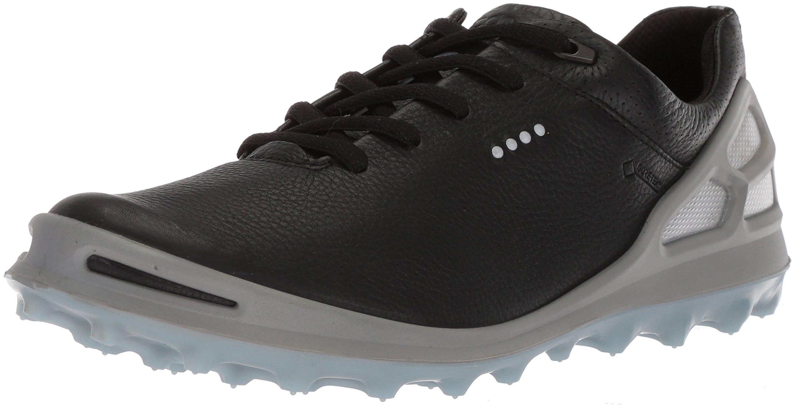 ECCO Women's Cage Pro Gore-Tex Golf Shoe, Black/Arona, 8 M US by ECCO