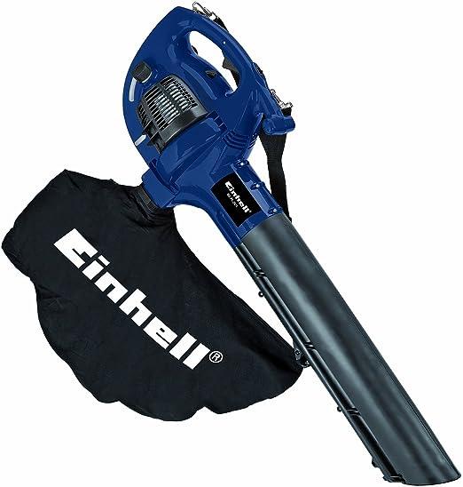 Einhell BG-PL 26/1 - Aspirador-soplador de hojas a gasolina, 8000 rpm, 55 l, 0.65 kW, color negro y azul: Amazon.es: Hogar