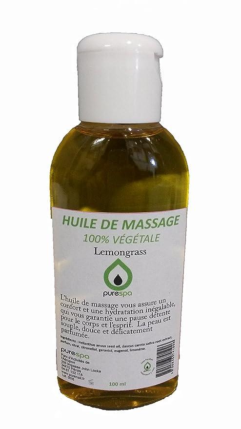 1 opinioni per Olio di massaggio 100% Vegetale Profumo Lemongrass–100ml- Offre scoperta