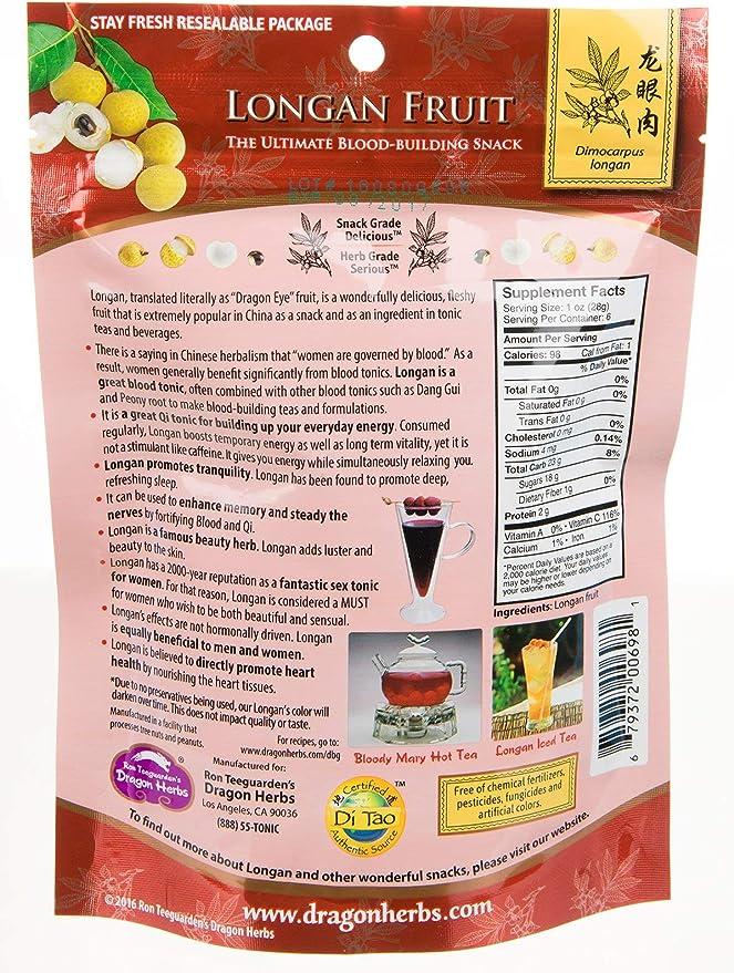 Longan fruta 8 oz (227 g) - Dragon Hierbas: Amazon.es ...