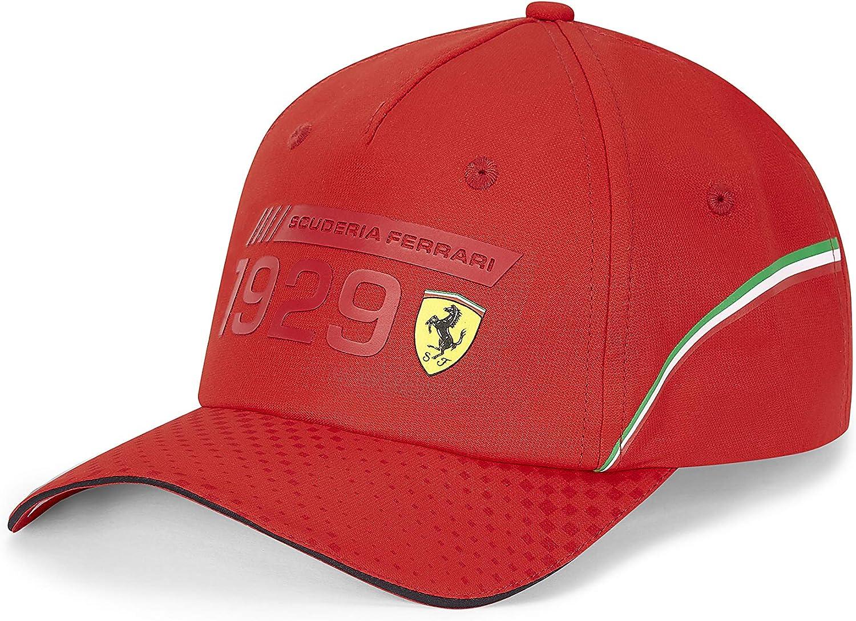 Ferrari Scuderia F1 color negro y rojo Gorro