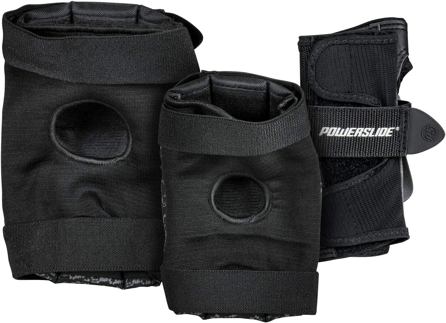 Powerslide Standard Women Guards Protectors Pads Pack of 3/Set of 3