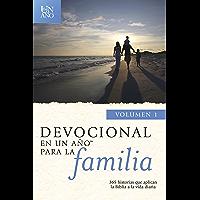 Devocional en un año para la familia volumen 1 (En un ano/One Year Book)