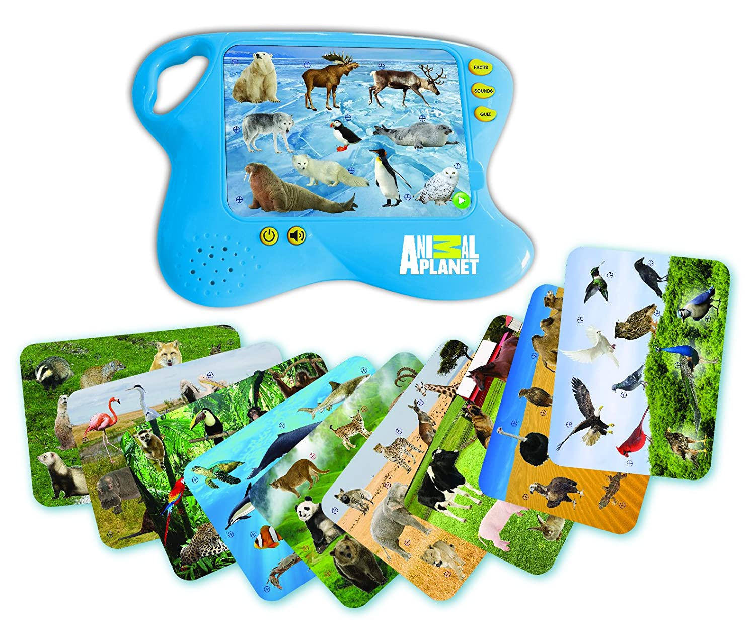 Best Animal Planet Toys For Kids And Toddlers : Animal learning pad educational toy kids toddler
