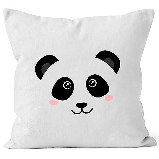 Cojín de Panda con funda Panda Oso de peluche caras Cojín ...