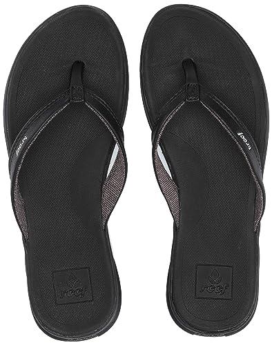 skate schoenen best outlet te koop Reef Womens Rover Catch Flip Flop