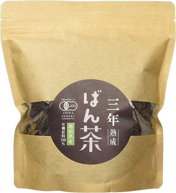 茶三代一 有機三年熟成番茶 ティーバック 50g