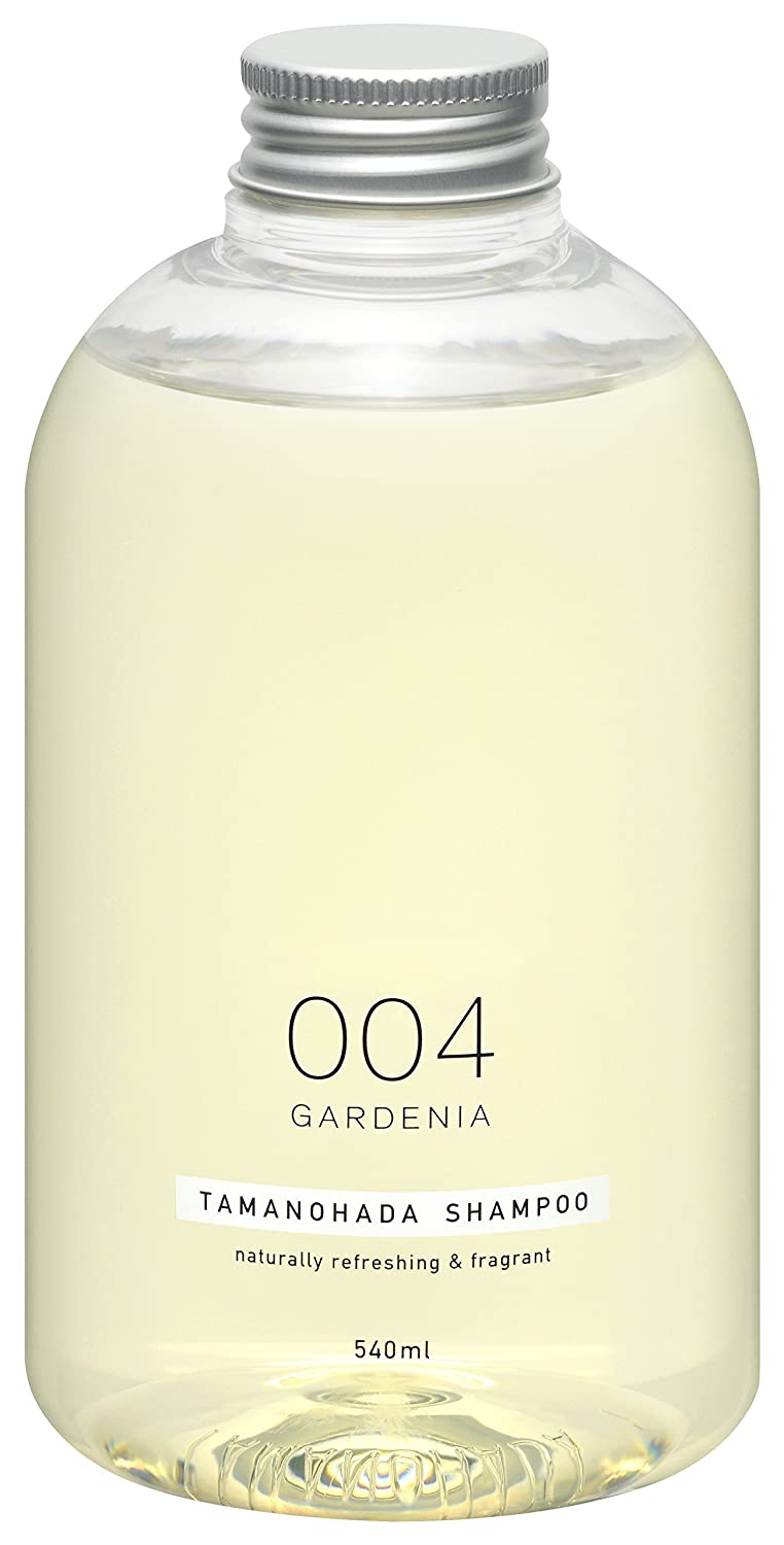 TAMANOHADA 004 Gardenia Natural Hair Shampoo for Women and Men, Silicone-free Shampoo from Japan 18.26 Fl Oz / 540ml