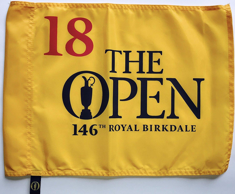 2017 Open Pin Flag Jordan Spieth wins