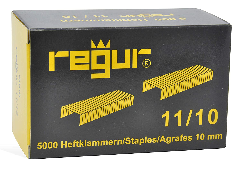 5.000 St/ück REGUR 11 Heftklammer 11//6 mm