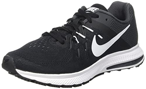 super popular 0bc99 4bd4e Nike Women s Wmns Zoom Winflo 2 Running Shoes, Black (Black White Anthracite