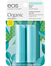 eos Sweet Mint Smooth Stick Organic Lip Balm, 4g, Pack of 2