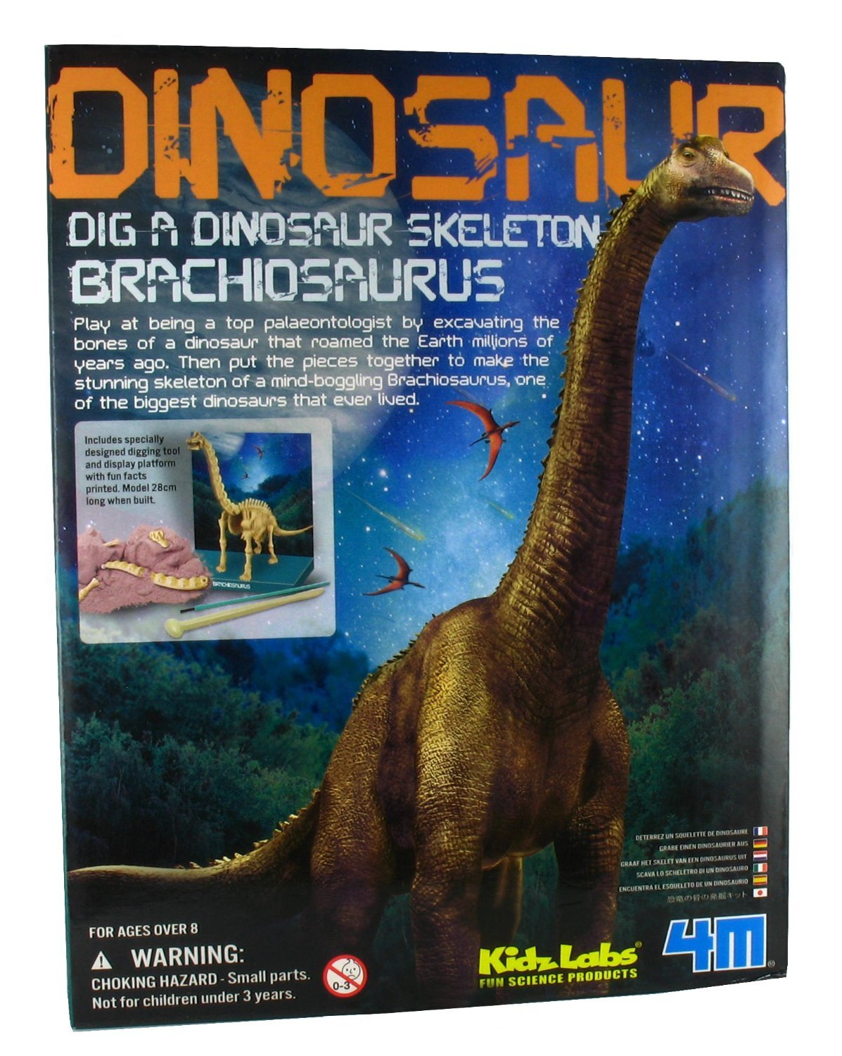Dig A Dino Kit - Brachiosaurus by 4M by 4M