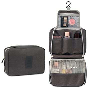 Image Unavailable. Image not available for. Color  Toiletry Bag Travel  Toiletries Bag Sturdy Hanging ... e2b7614e0c