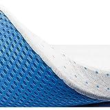 ViscoSoft - Surmatelas Visco Premium™ - sur Matelas 7,5cm à Mémoire de Forme Gel infusé, très Haute Densité 60kg/m³, Housse Bambou Amovible et Ajustable (160_x_200_7,5 cm)