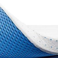 ViscoSoft - Surmatelas Visco Premium™ - sur-Matelas 7,5cm à Mémoire de Forme Gel infusé, très Haute Densité 60kg/m³, Housse Bambou Amovible, Ajustable et Lavable