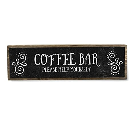 Coffee Gifts Coffee Lover Gifts Kitchen Signs Home Decor Coffee Decor Coffee Bar Decor Corner Coffee Shop Metal Sign