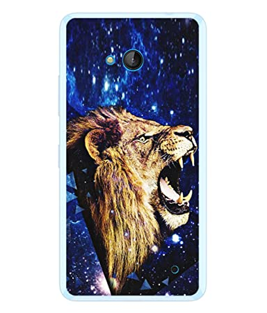 Fuson Designer Back Case Cover For Microsoft Lumia 640