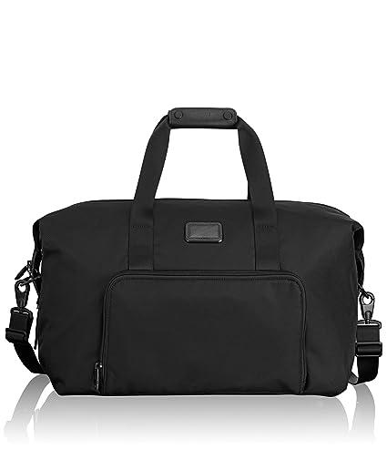 3bce4c62d Tumi Alpha 2 Double Expansion Travel Satche, Black - 022159D2: Amazon.co.uk:  Luggage