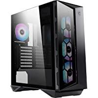 MSI MPG Series GUNGNIR 110R, Premium Mid-Tower Gaming PC Case: Tempered Glass Side Panel, ARGB 120mm Fans, Liquid…
